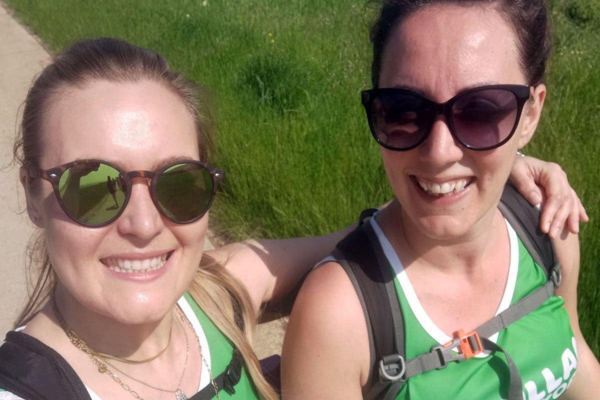 On Saturday 5 June, two members of GoodLaw Solicitors LLP undertook the South Coast Mighty Hike for Macmillan Cancer Care